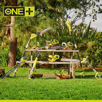 ONE+ Trädgård