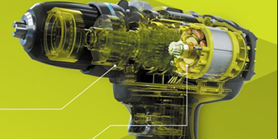 La technologie de moteur Brushless.