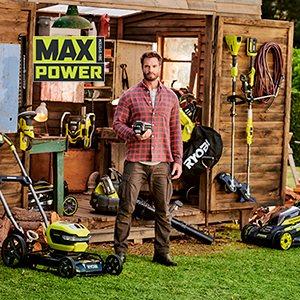 MAX POWER Trädgård