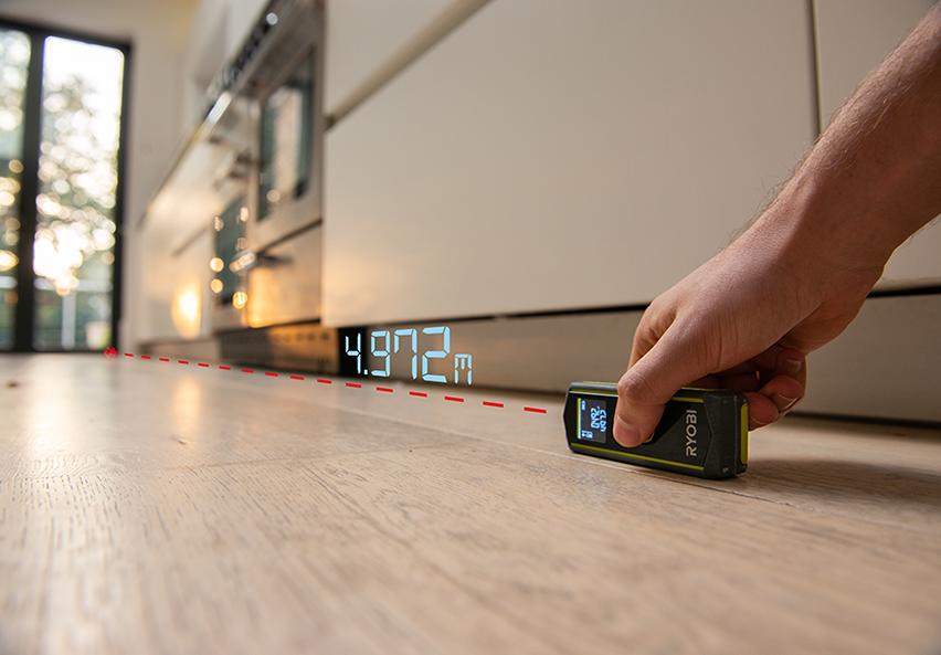 Measure room dimensions