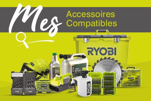 Trouvez les accessoires compatibles pour votre outil.