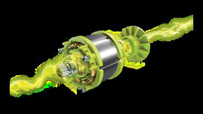 Fortschirttlicher und innovativer Motor