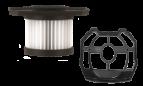 2x HEPA 13 filter and prefilter