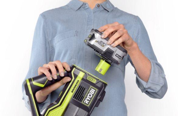 Utbytbart batteri