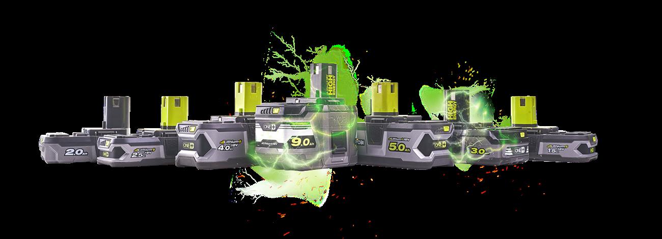8 batteries pour tous vos besoins.