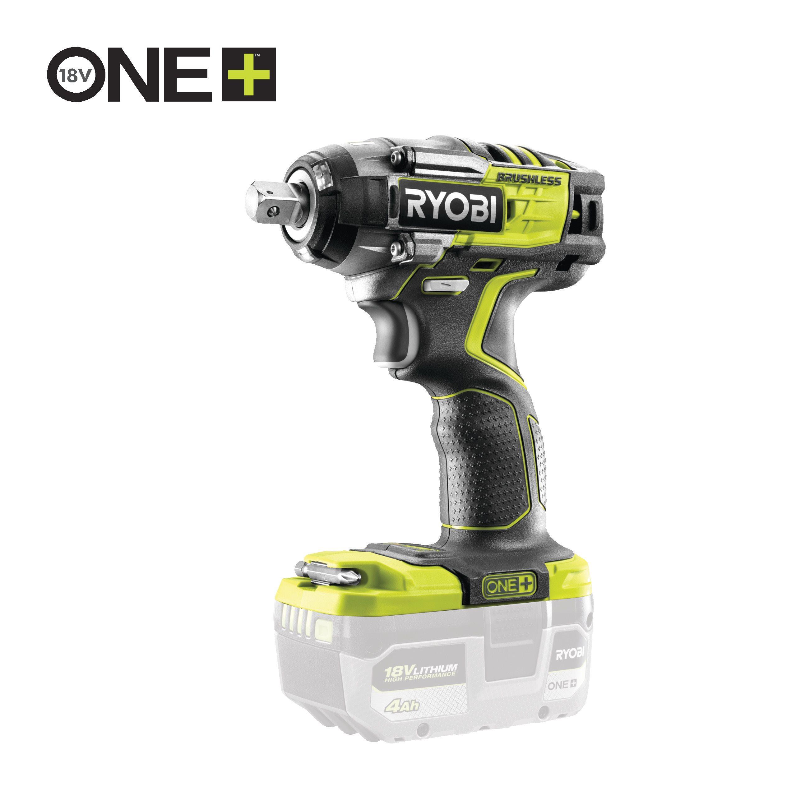 18V ONE+™ Cordless Brushless 3-Speed Impact Wrench (Bare Tool)