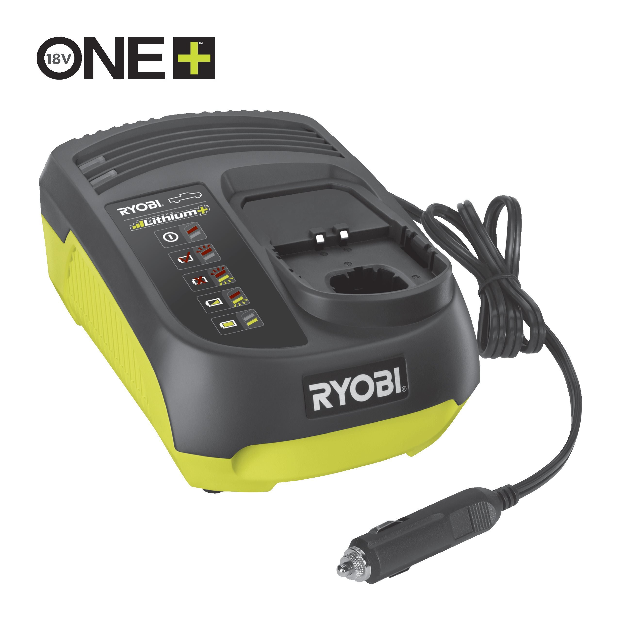 18V ONE+™ In-Car Battery Charger