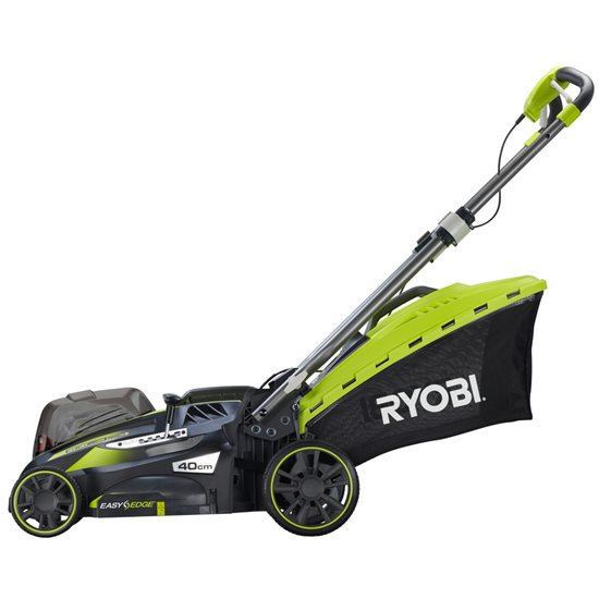 how to use a ryobi bcl3620 cordless mower