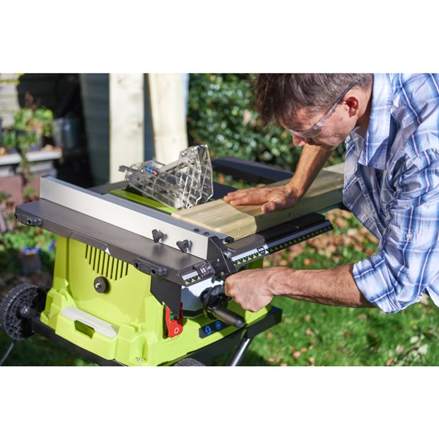 1800W Corded Table Saw And Stand | Power Tools | Ryobi Tools